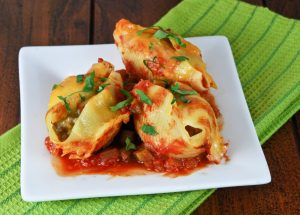 Wonderful stuffed shells