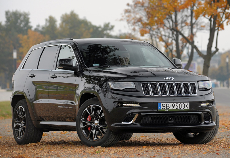2013 Jeep Grand Cherokee SRT (WK2); top car design rating and specifications