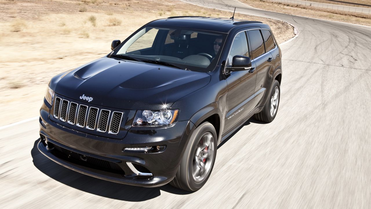 Jeep Grand Cherokee SRT8, 2012