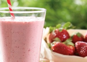 Recipe of Strawberry Kiwi smoothie