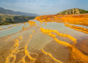 Badab-e Surt Travertine Terraces