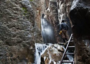 Historic Travel in Ghara Soo waterfall