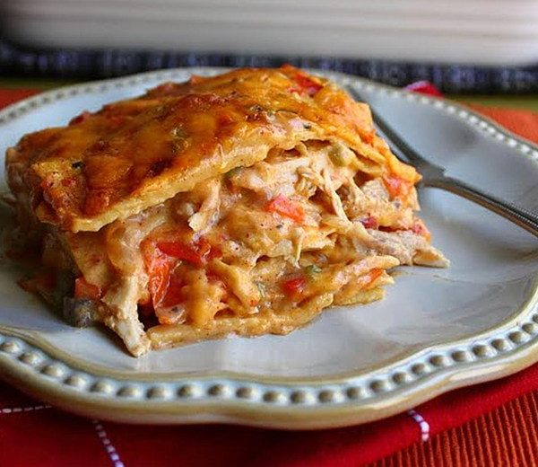 How to make King Ranch Chicken Casserole