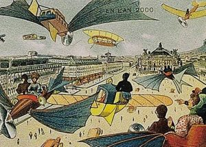 How People Imagined Future in 1900