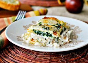 Make White Cheese Chicken Lasagna at Home